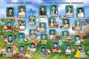 Виньетки,  детские портреты,  фотокалендари