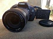Canon 600D + объектив,  в идеальном состоянии