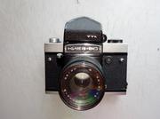 Продам фотоаппарат КИЕВ-60 TTL. ВОЛНА-3,  2.8/80. В рабочем состоянии.
