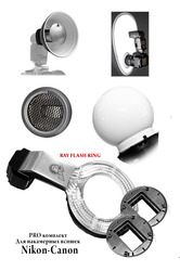 PRO комплект для накамерных вспышек Nikon-Canon